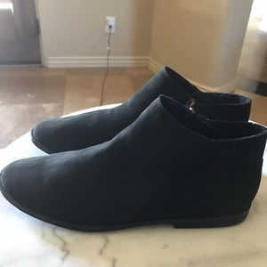 Kenneth Cole black suede bootie Nordstrom sz 8 NEW